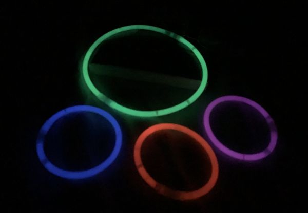 Glow sticks after 24 hours
