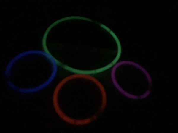 Glow sticks after 48 hours
