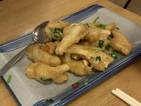 Happy's salt and pepper squid
