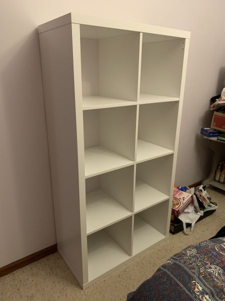 Kallax shelves