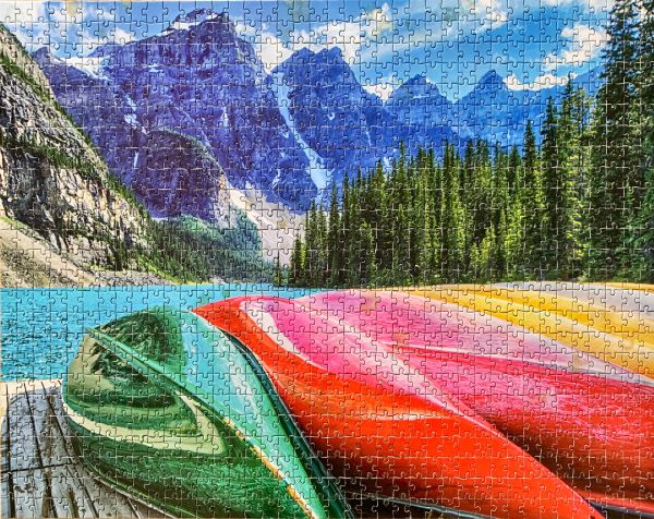 Moraine Lake jigsaw