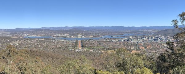 Mt Ainslie panorama