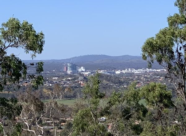 Gungahlin from Mt Rogers