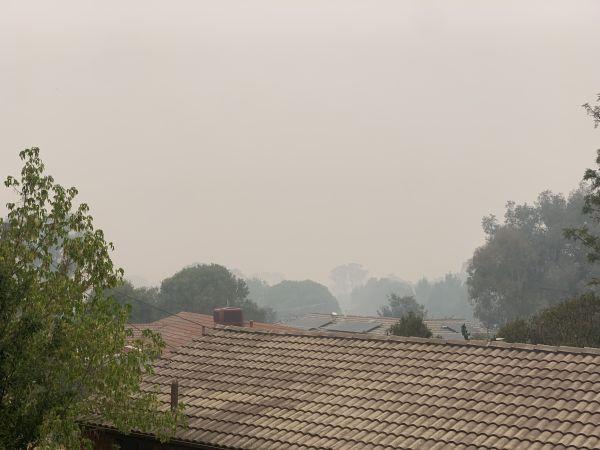 Second January smoke