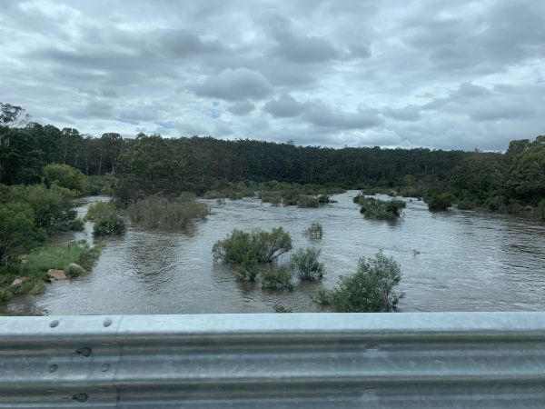 Shoalhaven in flood