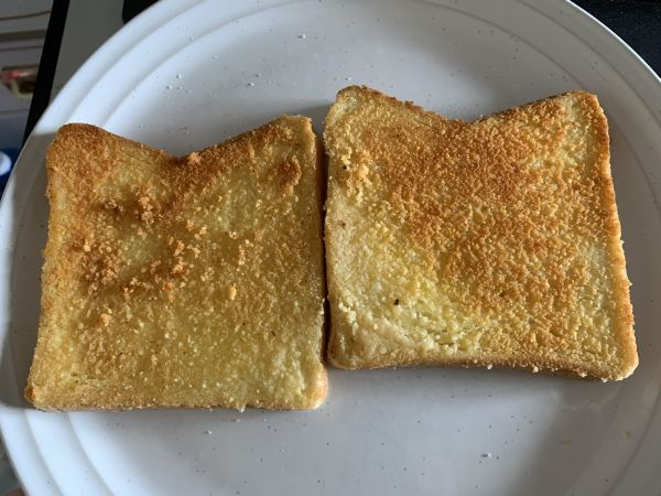 Sizzler cheese toast