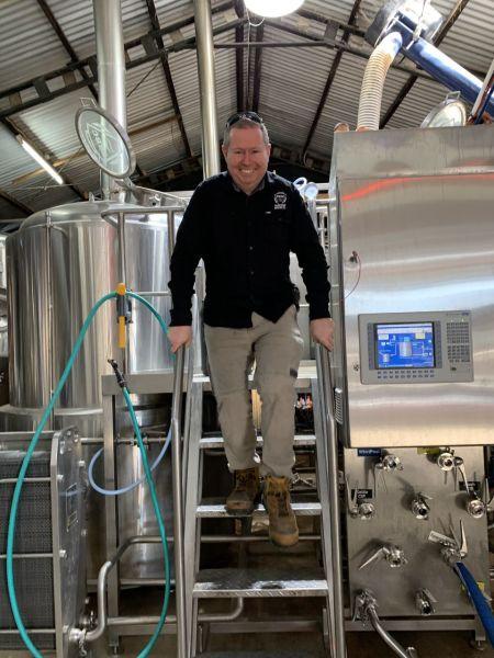 Tumut River Brewing Co (TRBC) Tim Martin at TRBC
