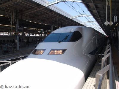 Our second Shinkansen (of many)