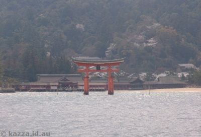 Itsukushima Shrine Tori