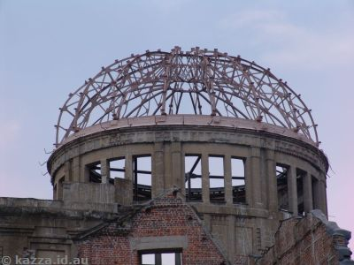 Top of the A-Bomb Dome