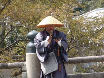 Dude on the way to Todaiji