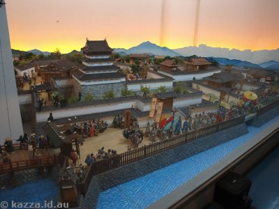 Diorama in Kokura Castle