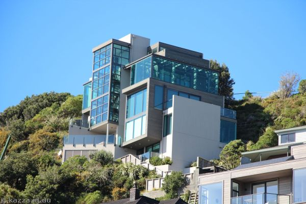 Spectacular house at 34 Lookout Road, Roseneath, Wellington