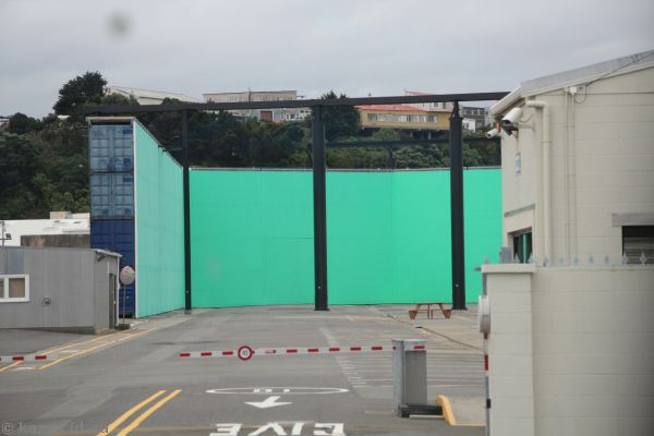World's largest outdoor green screen