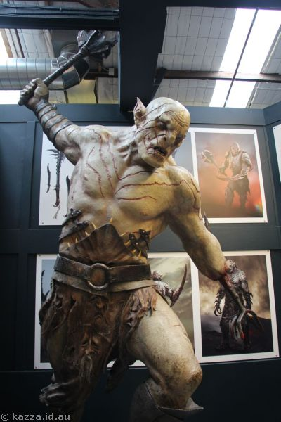 Sculpture in the Weta Cave