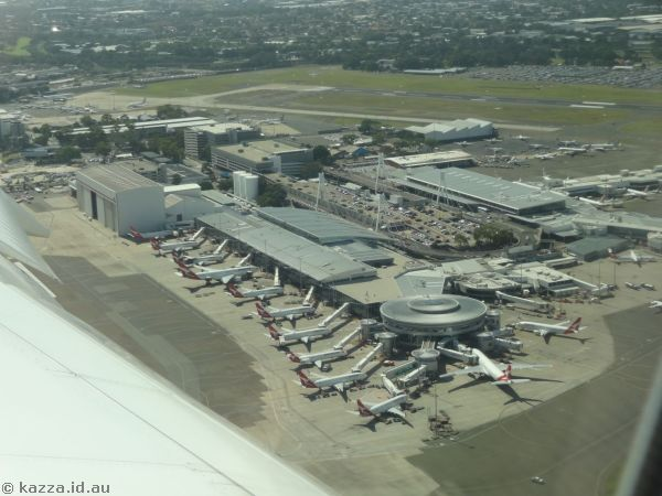 Sydney Airport domestic terminals