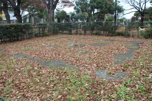 Ruins of Tennoji five-storey pagoda
