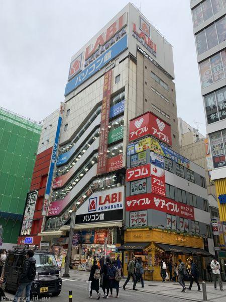 Akihabara buildings