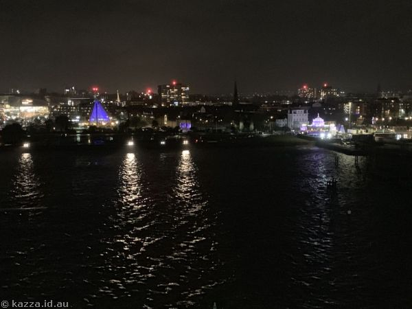 Southampton by night
