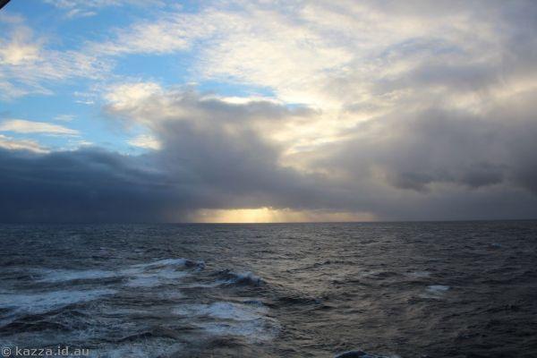 Sunrise over the North Atlantic