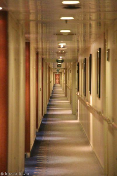 Deck 10 corridor