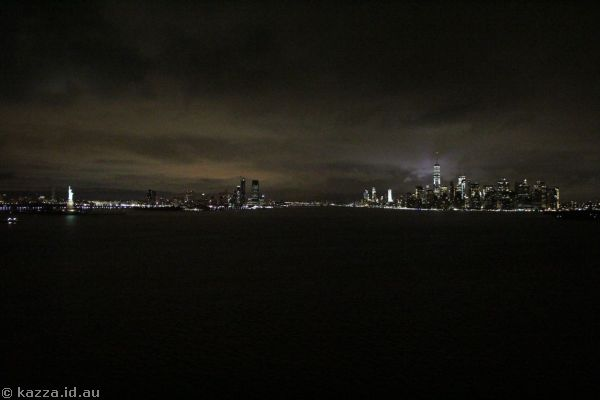 New Jersey and New York from Queen Mary 2
