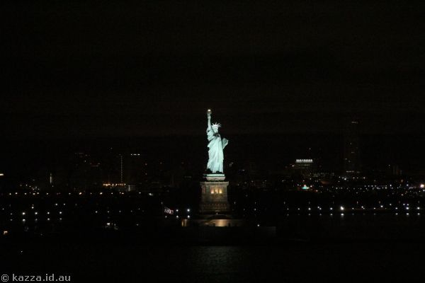 Statue of Liberty from Queen Mary 2