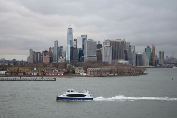 New York and Governors Island