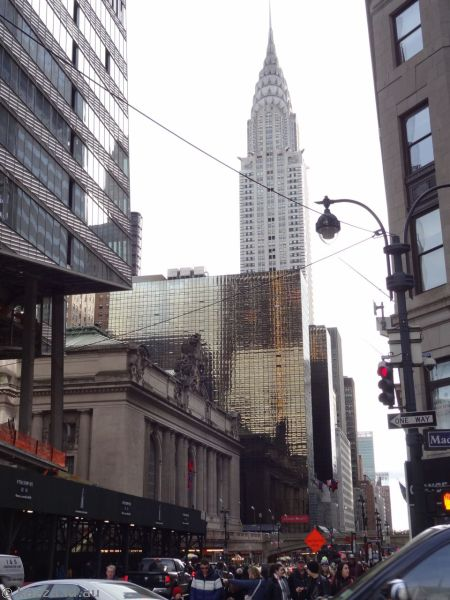New York buildings and Chrysler Building
