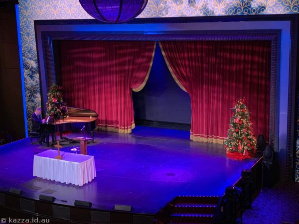 Royal Court Theatre ready for Christmas services
