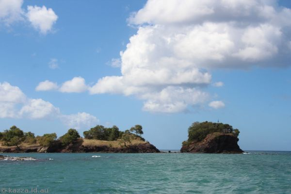 Tapion Shoal, at the entrance to Castries harbour