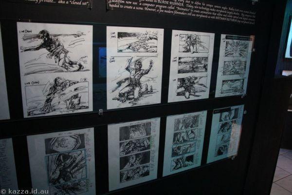 Terminator 2 storyboards