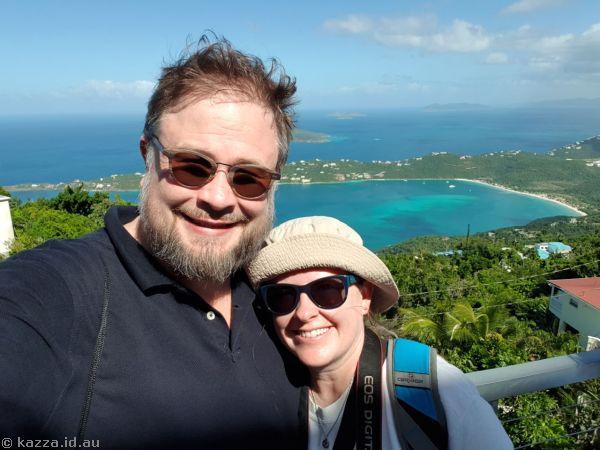 Stu and Kaz at Mountain Top
