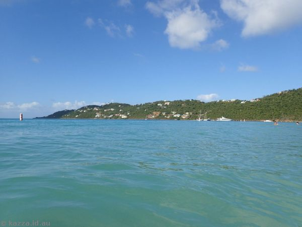 Water at Magens Bay