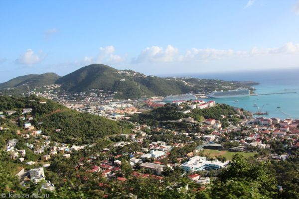 View over St Thomas