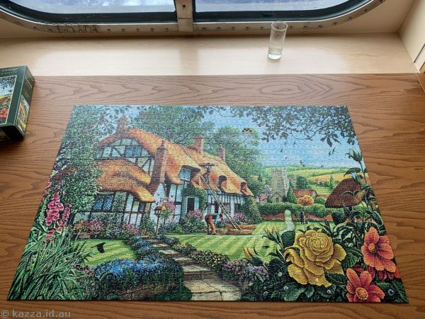 The Thatcher's Cottage jigsaw