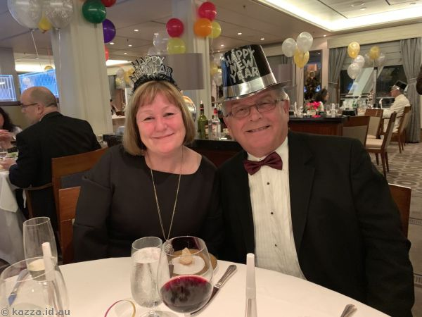 Helen and Ray on New Years Eve