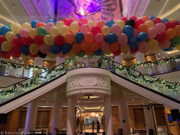Grand Lobby ready for New Years Eve - no Christmas tree anymore :(