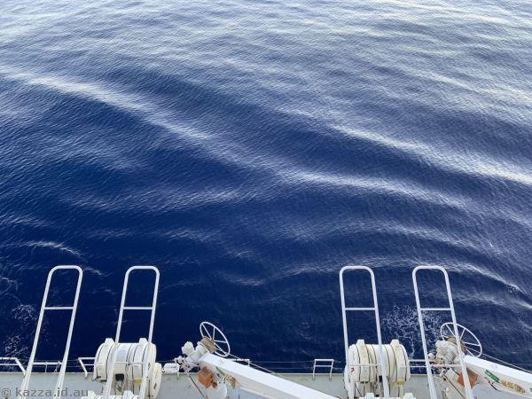 Calm seas on the North Atlantic