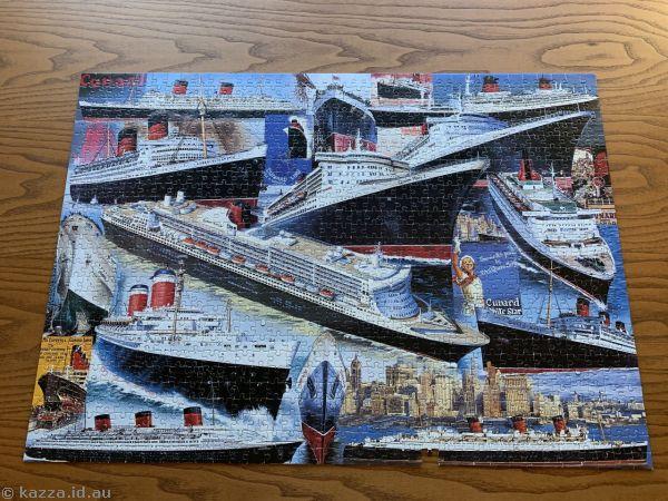 Ocean liners jigsaw