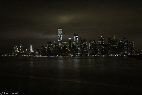New York from Queen Mary 2