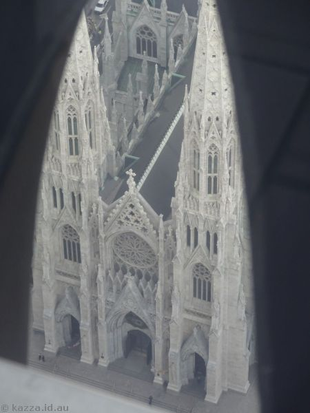 St Patrick's Cathedral from Top of the Rock