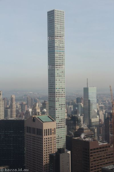 432 Park Avenue Condominiums from Top of the Rock