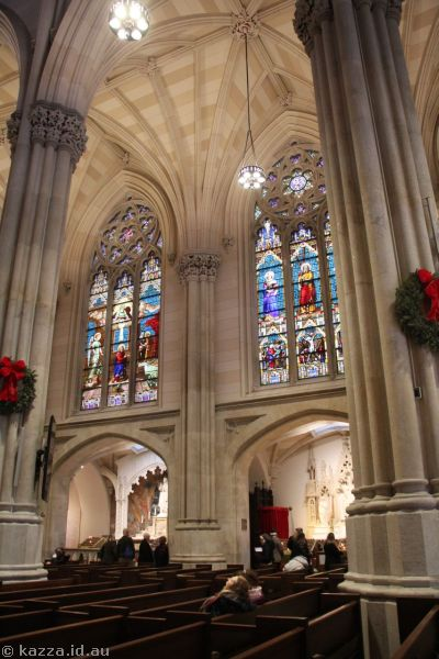Interior of St Patrick's Cathedral
