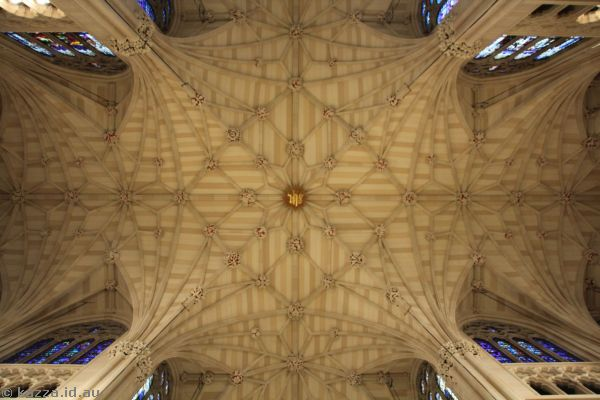 Roof of St Patrick's Cathedral