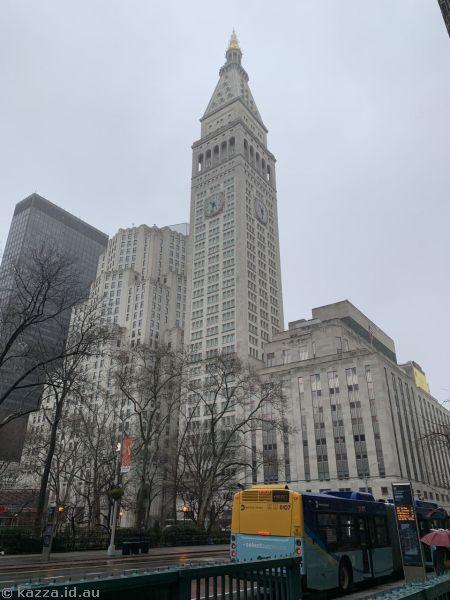 Clocktower building on Madison Avenue