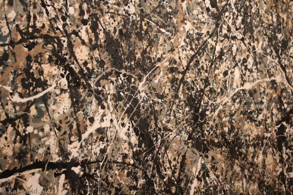 One: Number 31, 1950, by Jackson Pollock (1950)