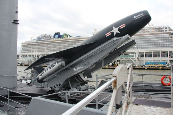 Cruise missile on USS Growler