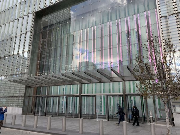 South entrance of One World Trade Centre