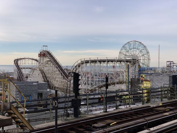 Coney Island from the station